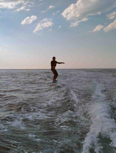 surf foil olas