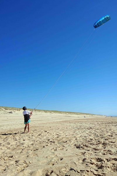 cours kitesurf initiation pilotage