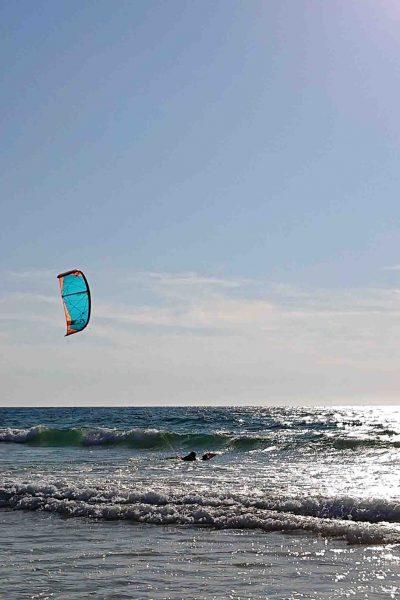 cours kitesurf nage tractee