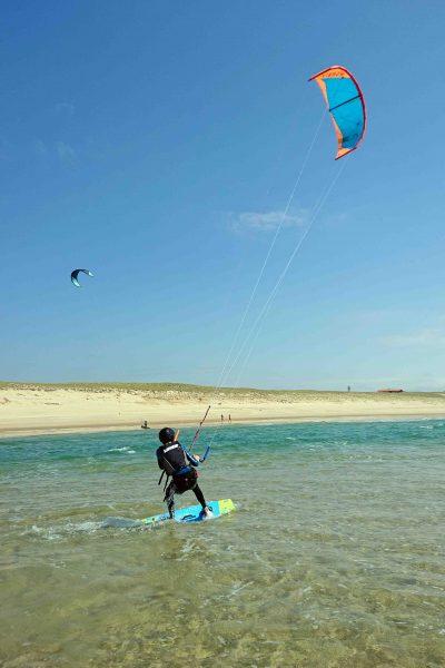 cours kitesurf waterstart